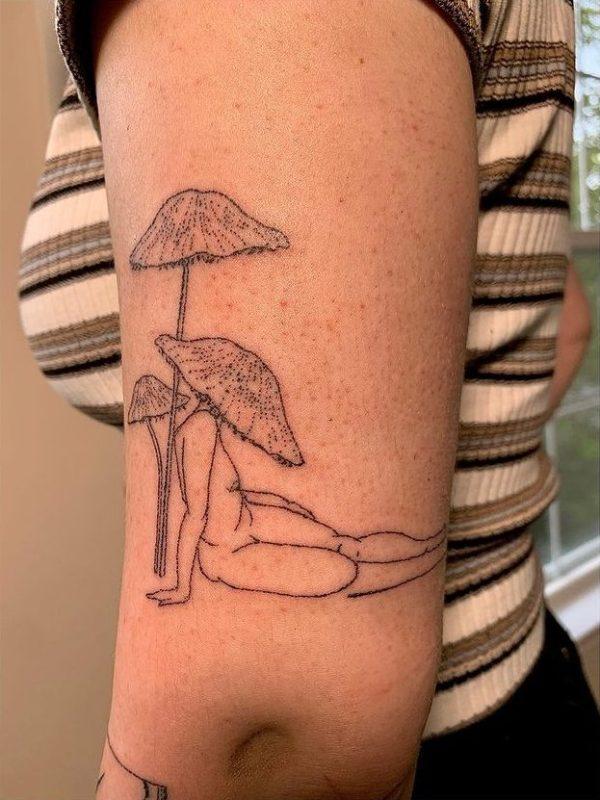 KSQ mushroom lady